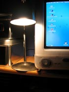 Lamps used close to the skin could cause problems for people who                                 are extremely light-sensitive