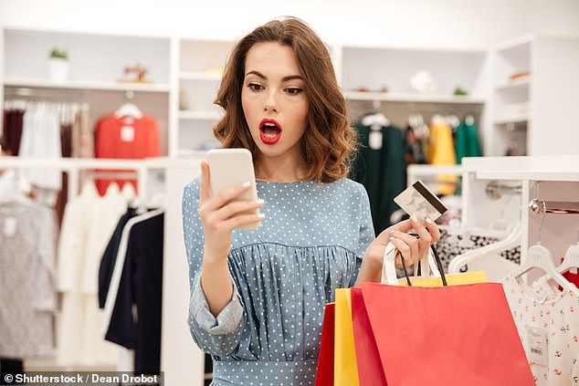 Shake-up: Shoppers face a new system of authentication codes which can use your phone to verify online payments